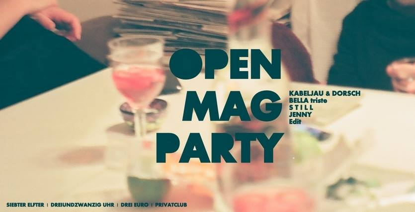 open mag Party